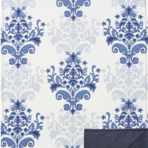 Areté-Trilho medalhão azul e jeans