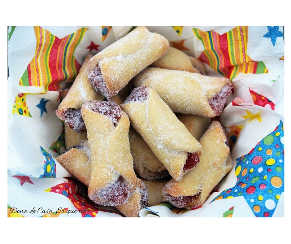 Biscoitos de Goiabada - Lanchinho de férias com gosto de infância. Dona de Casa. Só que não.