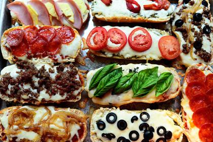 Pizza de Pão Francês