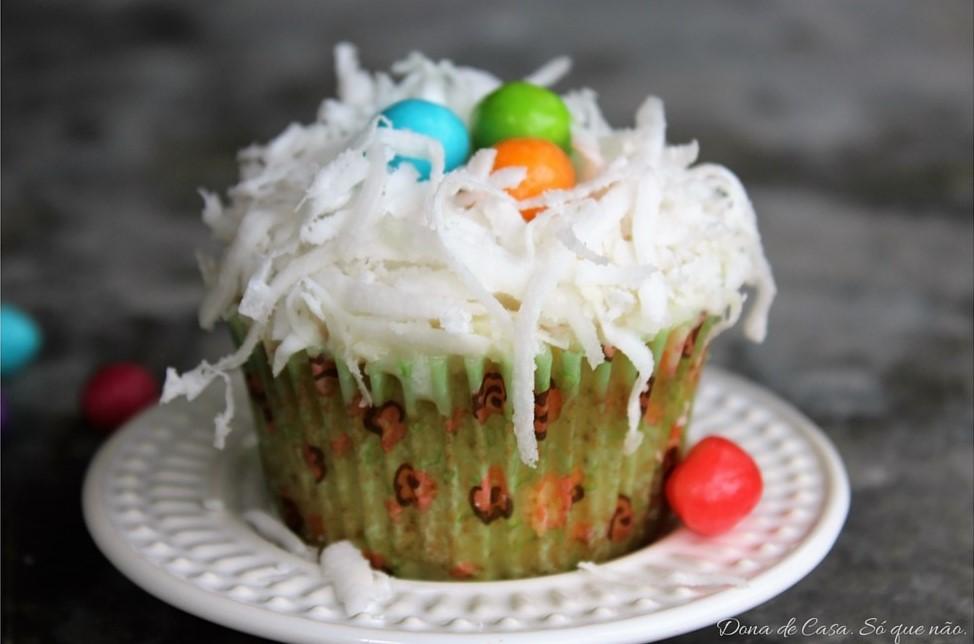 Cupcakes Ninho de Páscoa