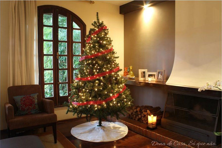 Árvore de Natal - 1a decoração. Dona de Casa. Só que não.