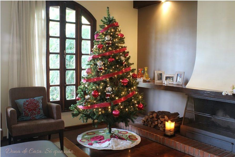 Árvore de Natal 3 Dona de Casa. Só que não.